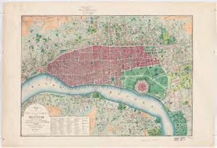Map of the city and environs of Calcutta constructed chiefly from