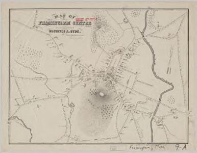Map of Framingham Centre