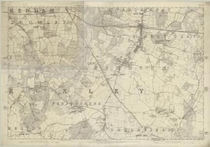 Kent XVI - OS Six-Inch Map