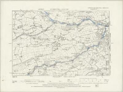 Yorkshire CCXCIV.SE - OS Six-Inch Map