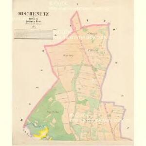 Mischenetz - c4924-1-001 - Kaiserpflichtexemplar der Landkarten des stabilen Katasters