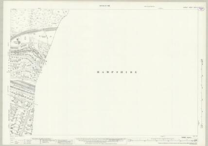 Dorset XLIV.11 (includes: Bournemouth; Poole) - 25 Inch Map
