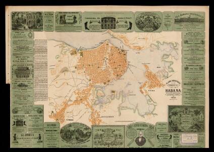 Plano industrial y comercial de la Habana / por J. Calvet y Boix