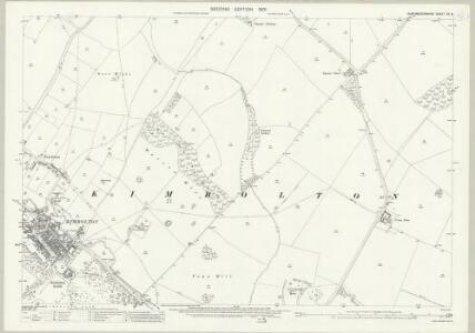 Huntingdonshire XX.8 (includes: Kimbolton) - 25 Inch Map
