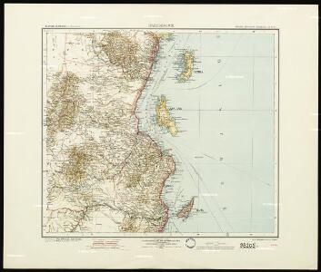 Daressalam. German East Africa in 9 sheets, Sheet 6