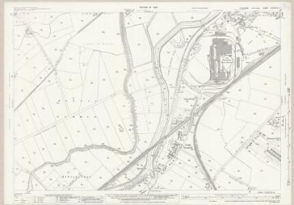 Yorkshire CCLXXVII.6 (includes: Barnby Dun With Kirk Sandall; Bentley With Arksey; Doncaster; Thorpe In Balne) - 25 Inch Map
