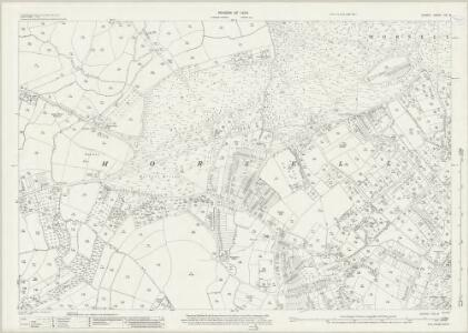 Surrey XVI.8 (includes: Horsell; Woking) - 25 Inch Map