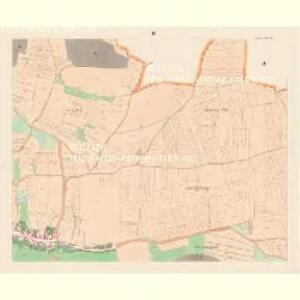 Stiekna (Sstěkna) - c7766-1-003 - Kaiserpflichtexemplar der Landkarten des stabilen Katasters