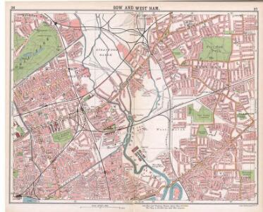Handy Reference Atlas of London