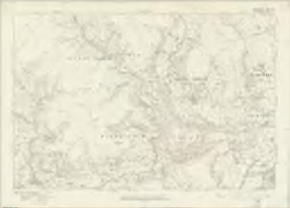 Brecknockshire XXXVI - OS Six-Inch Map