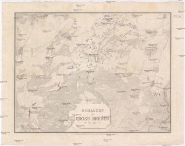 Schlacht bei Gross Beeren den 23ten August 1813
