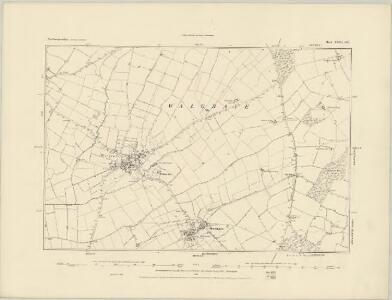Northamptonshire XXXI.SW - OS Six-Inch Map