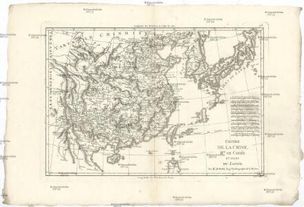 Empire de la Chine, r. de Corée et isles du Japon