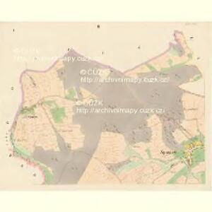 Spaniow (Spaniowo) - c7171-1-001 - Kaiserpflichtexemplar der Landkarten des stabilen Katasters