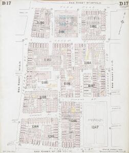 Insurance Plan of London North District Vol. D: sheet 17