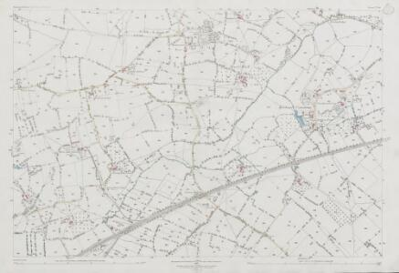 Somerset V.10 (includes: Backwell; Nailsea; Wraxall) - 25 Inch Map