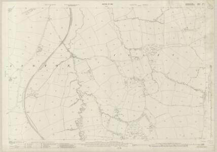 Warwickshire XIXA.1 (includes: Birmingham; Frankley; Halesowen; Hunnington; Illey; Lapal) - 25 Inch Map
