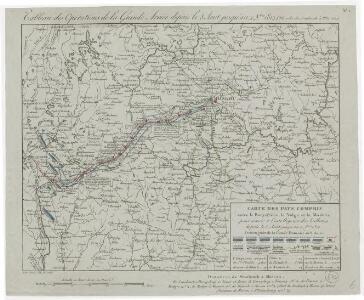 Tableau des opérations de la Grande Armée depuis le 8 Aout jusqu'au 20 8bre 1812 (marche de Smolensk à Moscou)