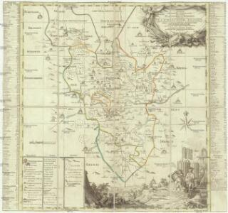Accurate geograph. Delineation des zu dem Koenigreich Boehmen gehoerigen Egerischen Creisses