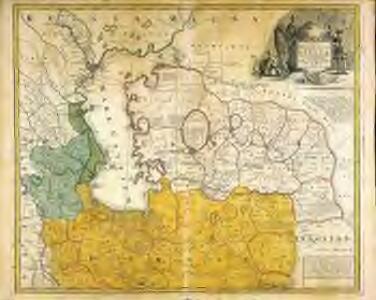 Nova maris Caspii et regionis Usbeck cum provincijs adjacentibus vera delineatio