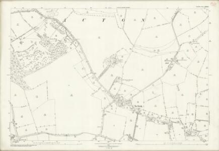 Suffolk LXXII.8 (includes: Acton; Great Waldingfield; Long Melford) - 25 Inch Map