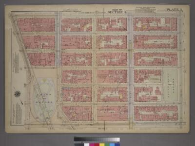 Plate 3, Part of Section 3: [Bounded by E. 20th Street, Second Avenue, E. 14th Street, Union Square - East Fourth Avenue, E. 17th Street and Broadway.]