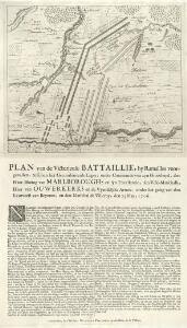 Plan van de Victorieuse battaillie, by Ramailles voorgevallen