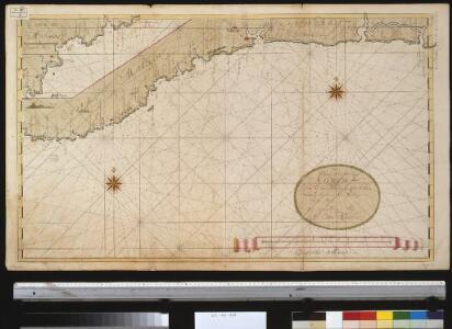Een gedeelte van de kust van Gunea van C. das Palmas tot Costa La Hou vertoonende de kusten van Malegens en Grijn kust