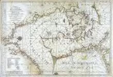 Carte de la mer de Dannemark et des entrées dans la mer baltique