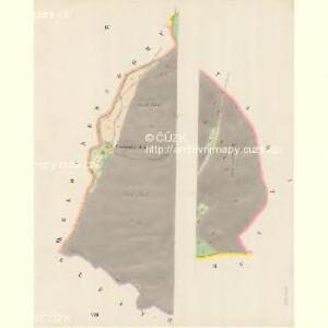 Kamitz (Kamenka) - m1142-1-001 - Kaiserpflichtexemplar der Landkarten des stabilen Katasters