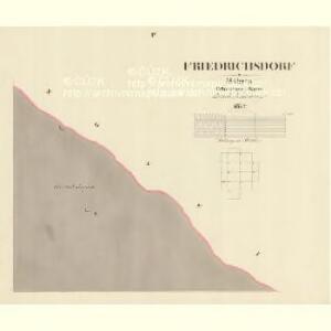Friedrichsdorf - m0045-1-003 - Kaiserpflichtexemplar der Landkarten des stabilen Katasters