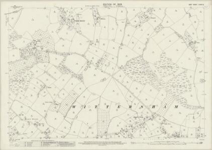 Kent LXXIX.12 (includes: Stone cum Ebony; Wittersham) - 25 Inch Map