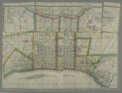 Plan of the city of Philadelphia / compiled from actual survey by J. Drayton ; J.H. Young sc.