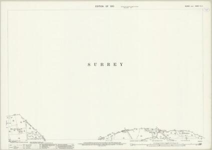 Sussex IV.4 (includes: East Grinstead; Godstone; Horne; Tandridge) - 25 Inch Map