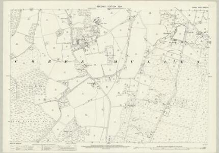 Dorset XXXIV.15 (includes: Corfe Mullen) - 25 Inch Map
