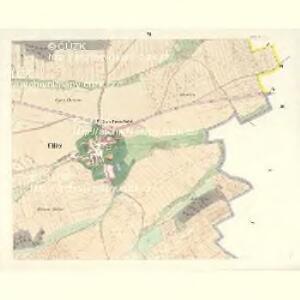 Ullitz - c8243-1-006 - Kaiserpflichtexemplar der Landkarten des stabilen Katasters