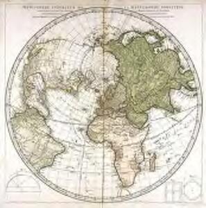Hémisphère supérieur de la mappemonde