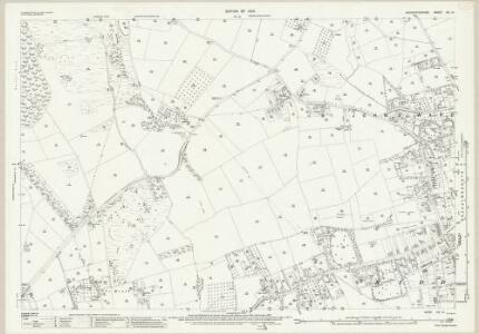Worcestershire VIII.14 (includes: Kidderminster Borough; Kidderminster Foreign; Wribbenhall) - 25 Inch Map
