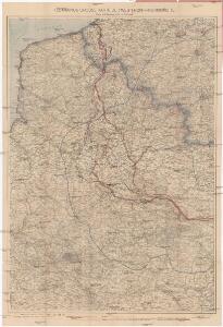 Flemmings grosse Karte der Westfront - Nordhälfte