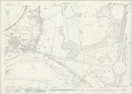 Middlesex XXV.7 (includes: East Molesey; Twickenham St Mary The Virgin; West Molesey) - 25 Inch Map