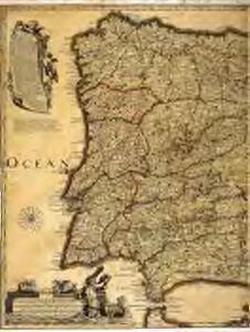 Carte nouvelle et curieuse du royaume d'Espagne / C. Inselin, 1