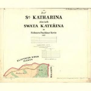 Sct. Katharina - c7582-1-001 - Kaiserpflichtexemplar der Landkarten des stabilen Katasters