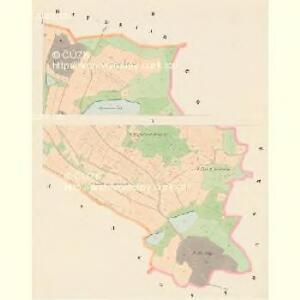 Klenau - c3146-1-002 - Kaiserpflichtexemplar der Landkarten des stabilen Katasters