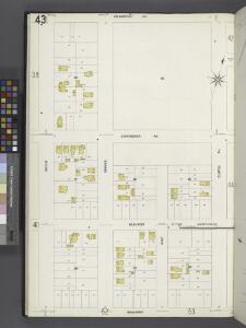 Queens V. 4, Plate No. 43 [Map bounded by Atlantic Ave., Curtis Ave., Broadway, Beech]