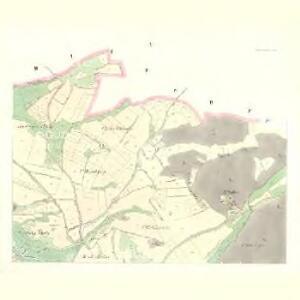 Wrczen (Wrčen) - c8843-1-002 - Kaiserpflichtexemplar der Landkarten des stabilen Katasters