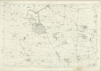 Northumberland LXXX - OS Six-Inch Map