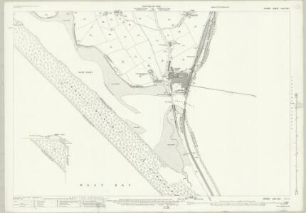Dorset LVIII.2 & 1 (includes: Chickerell; Portland; Weymouth) - 25 Inch Map