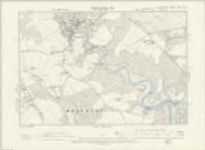 Hampshire & Isle of Wight LXXXI.NW - OS Six-Inch Map