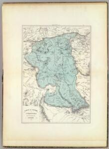 Carta del Canton de Angostura, Provincia de Guayana.