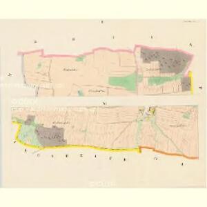 Gottschau - c3243-1-001 - Kaiserpflichtexemplar der Landkarten des stabilen Katasters